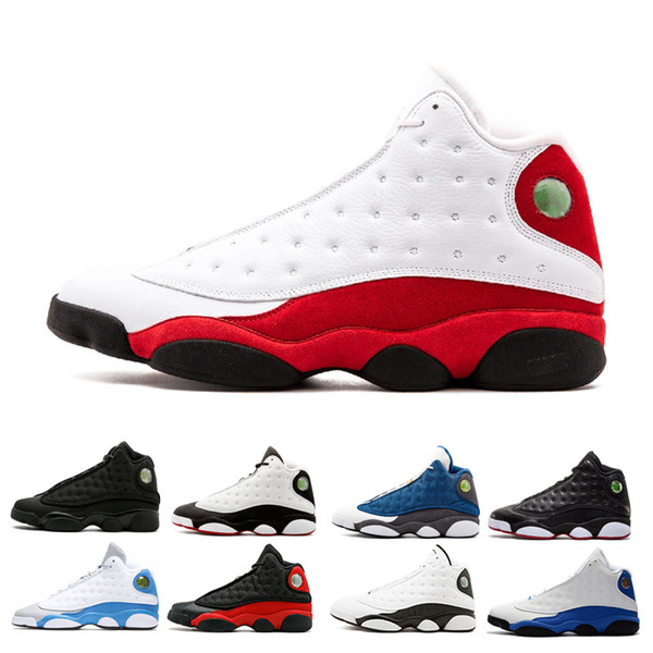 28a5d5aa57c 2018 mens 13 basketball shoes 13 Altitude black cat Chicago bred red white  DMP xiii Hyper