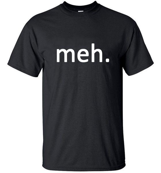 2018 MEH Internet Geek Nerd Engraçado crossfit hip top homens camiseta streetwear Sólida t-shirt Tops Tees marca roupas finas pp Mens 2018