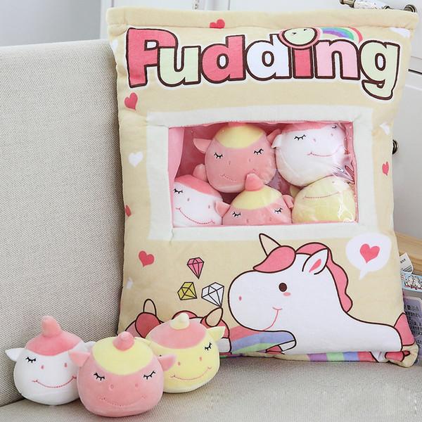 Hot juguetes de peluche conejo cerdo unicornio flamingo dinosaurio Seth tut lindo bebé celebridad merienda bebé rellenos aninales regalos de navidad juguetes para niños