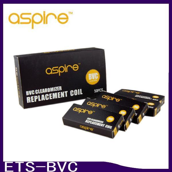 Bobine di ricambio BVC per atomizzatori BTA Aspire CE5 CE5S ET ETS Bobine di ricambio Vivi Nova Mini Vivi Nova BVC 1.6 1.8 2.1 ohm 0266039