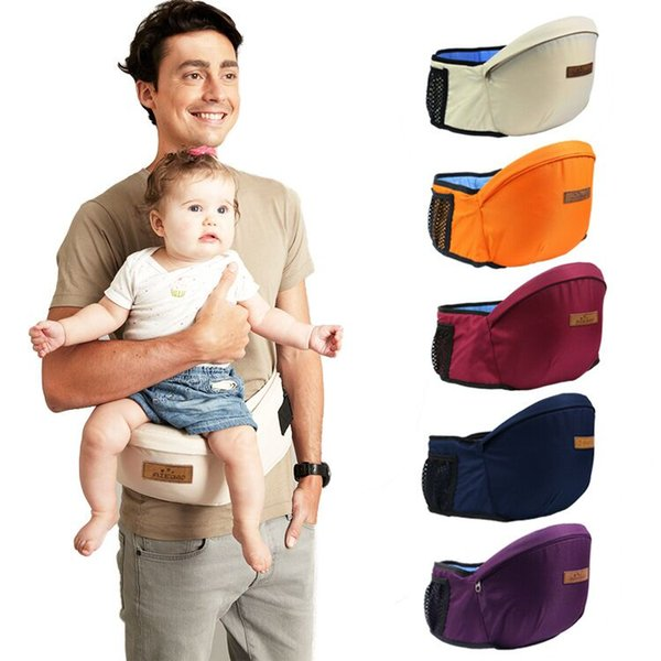 Baby Carrier 2016 New Design Waist Stool Walkers Baby Sling Hold Waist Belt Backpack Hipseat Belt Kids Infant Hip Seat