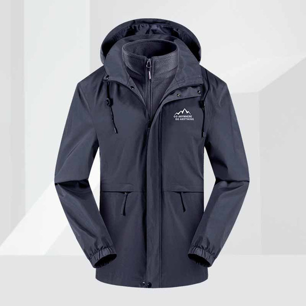 Outdoor Men's Ski Suit Jacket Thermal Warmth Snowboarding Jacket Breathable Plus Size Sports Jacket For Camping Waterproof Wind Stopper Jack