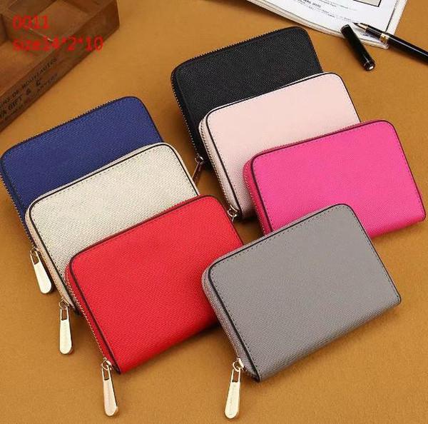 marque designer femme pu portefeuilles courts pochette 7 couleurs petit mignon 00ap11