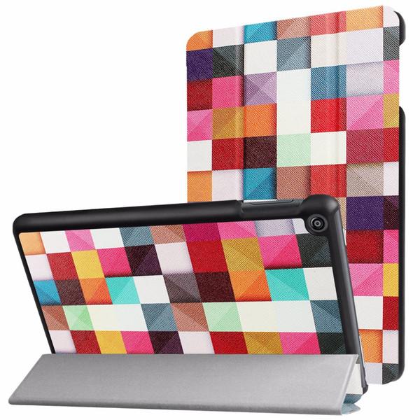 Caso inteligente para amazon kindle fogo hd 8 tablet 2017 lançamento tampa inteligente para todo o novo fogo hd 7ª geração tampa da tabuleta de exibição