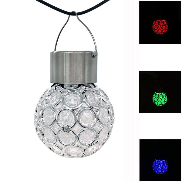 Hang Lamp Retro Outdoors Garden Tree Shelf Embellishment Decorate Solar Energy LED Light Bulb Shape Plastic Lamps Colorful 8 5wn Y