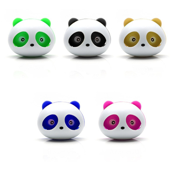 top popular 2 Pieces Cute Panda Car Air Freshener Perfumes 100 Original Auto Flavoring for Air Vent Decoration Car Smell Flavors Accessories 2021