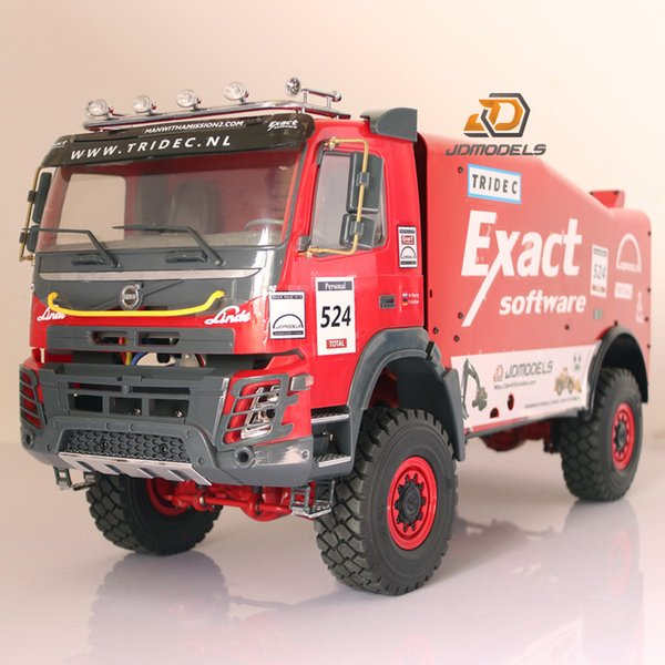 Rc car tamiya model 2018 Volvo FMX Version 1/14 Scale Dakar Rally Truck
