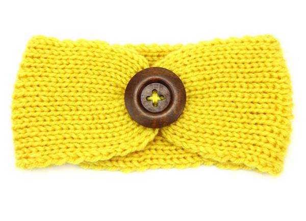 300pcs Baby Knit Headband For Winter Cute Girls Double Crochet Top Knot Elastic Turban Girls Head Wrap Ears Warmer Headwear