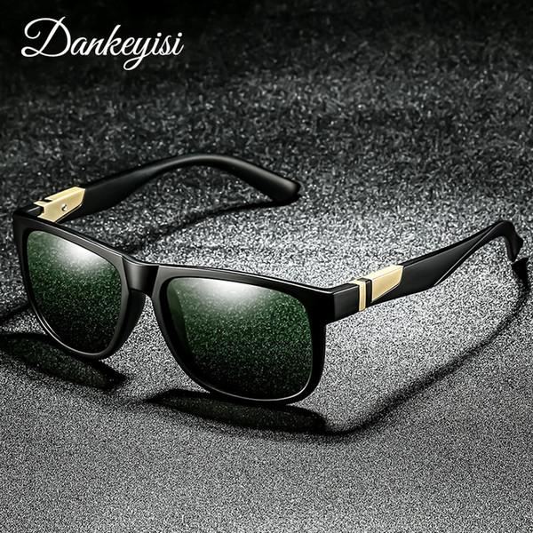 f599128f6c DANKEYISI Moda Mujeres Gafas de Sol Hombres gafas de Sol Polarizadas Hombres  Espejos de Conducción Marco