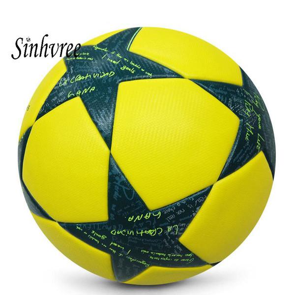 Grosshandel Marke Fussball Grosse 4 Pu Offizielle Grosse 5 Anti Slip Fussball Match Training Outdoor Sports Fussball Ausrustung Von Sinhsportmall 25 13