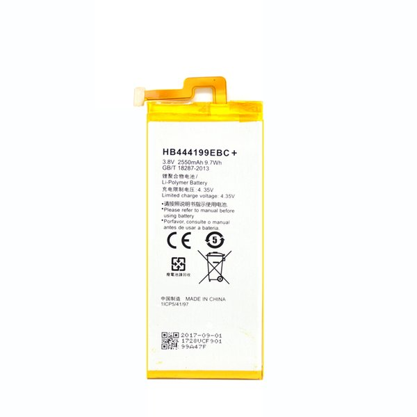 best selling For Huawei Honor 4C Replacement battery HB444199EBC+ Mobile Phone Batteries 3.8V 2500mAh akku with Tools fast shipping