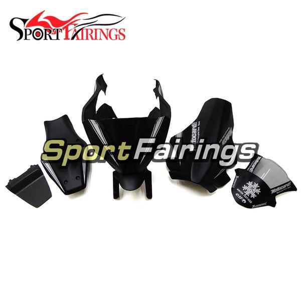 Fiberglas Yarış Fairings Kawasaki ZX-10R Yıl 2011 için Fit - 2015 Yüksek Kalite Komple ABS Enjeksiyon Plastik Fairings Siyah