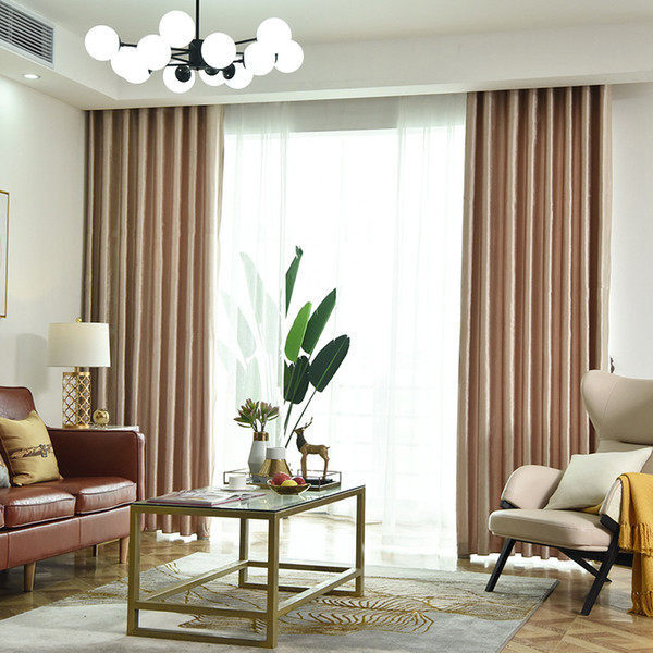 2019 European Style Italian Flannel Blackout Curtains Bedroom Balcony Hotel  Curtain Finished Product Customization To Choose From Samul, $28.15 | ...
