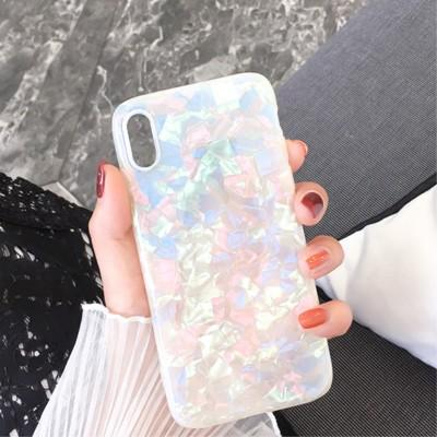 Bling Silicone Phone Case For iPhone xs max xr 7 8 Plus Dream Shell Pattern For iPhone X 8 7 6S Plus Soft TPU Back Cover samsung s8 s9 plus