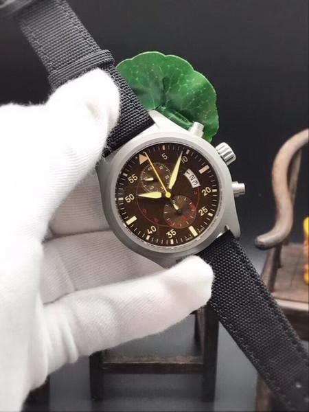 china chronographe date quartz grand argent CASE haute qualité Promotion mode en acier inoxydable hommes neufs montre montre bracelet