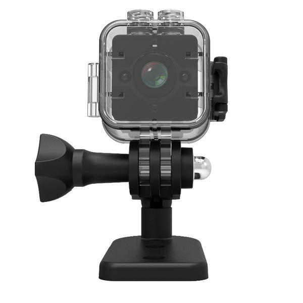 SQ12 Mini Grabador de Cámara 1080 P HD Cámara Nocturna de Video por Infrarrojos Infrarroja Cámara de Video por Infrarrojos Multifunción de Seguridad a Prueba de Agua HD