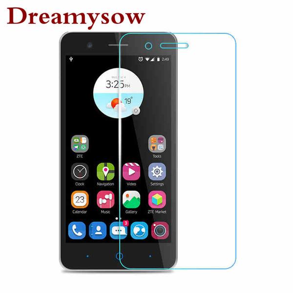 Dreamysow Tempered Glass Screen Protector Film For ZTE Blade X3 X7 A610 L2 L3 L5 Nubia Z7 Z9 Z17 mini Z9 Max Blade A510 A452 V7