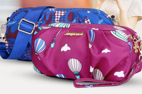 designer luxury handbags purses wholesale cheap 2018 elegant woman leather balloon printed shoulder bag small free shipping