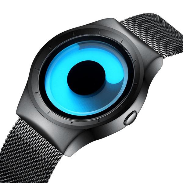 BIDEN 2018 New Watch Fashion Trend Dream Dial Studente Orologio Vortex impermeabile Shi Ying Orologio da polso al quarzo Mens