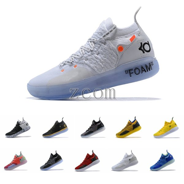 2018 New Release KD XI 11 Oreo Paranoid Sports Basketball Shoes Top quality Kevin Durant 11s Mens Trainers Designer KD11 Sneakers Size 7-12