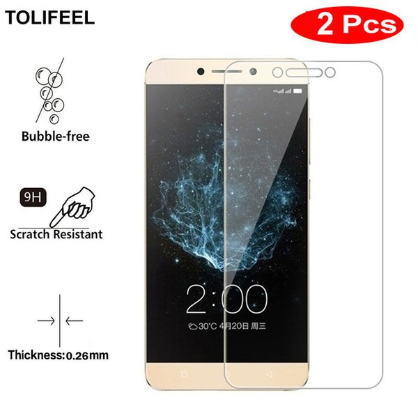 2PCS TOLIFEEL Tempered Glass For Letv LeEco Le 2 X620 X621 X520 Screen Protector 9H Phone Protective Film For LeEco Le 2 Pro