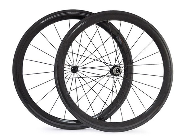 1460 g 23 mm de ancho 38 mm de profundidad ruedas de bicicleta de carretera de carbono 50 60 700C ruedas de bicicleta de fibra de carbono