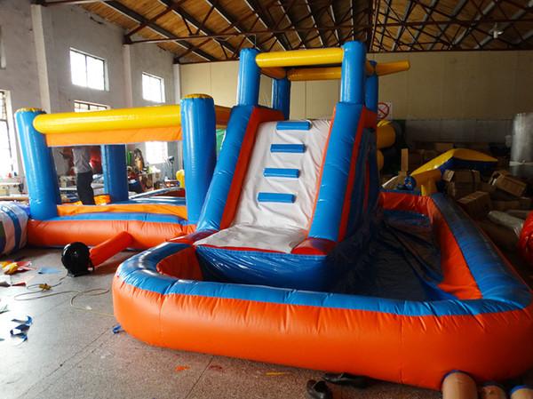 2017 hot sale commercial bounce houses parque infantil inflatable castle china