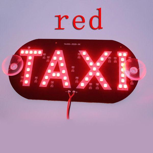 best selling 1pcs lot Taxi Led Car Windscreen Cab indicator Lamp Sign Blue LED Windshield Taxi Light Lamp 12V BA