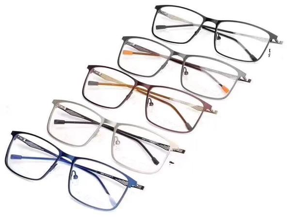 Mens optical glasses designer glasses PC lens titanium Frame Fashion eyeglasses optical frames opp bag packaging factory wholesale