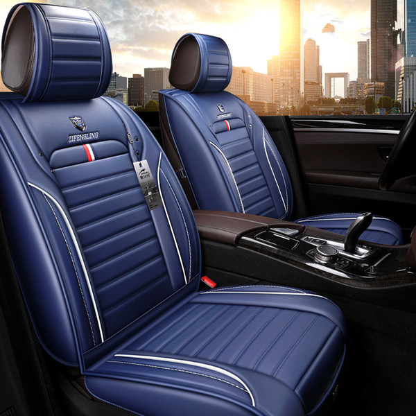Seat Covers For Trucks >> Universal Car Interior Accessories Seat Covers For Trucks Full Surround Design High High Quality Durable Pu Leather Five Seats Trucks Covers Custom