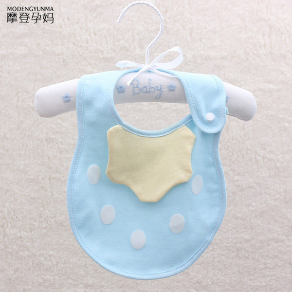 Cotton Feeding Bibs Burp Cloth Baby Saliva Towel Lovely Strawberry Pattern Pure