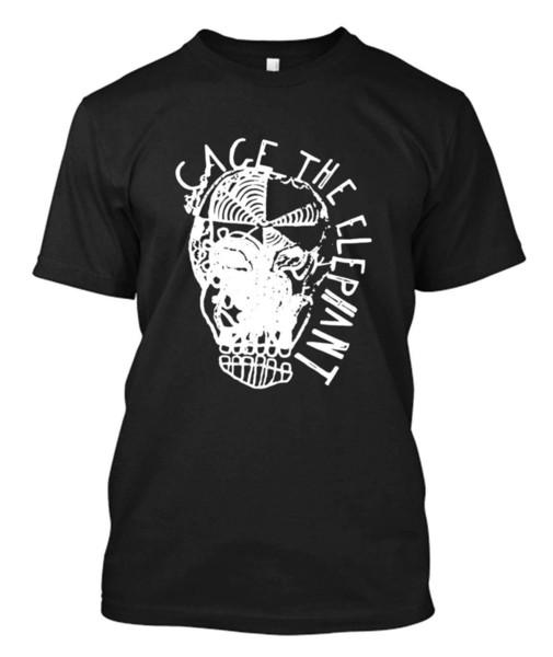 Cage The Elephant - Custom T-shirt Tee