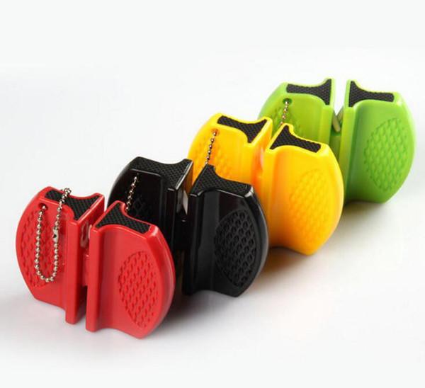 Mini Hızlı Kalemtraşları Cep Tungsten Karbür Seramik Çubuk Bıçak Kalemtıraş Çift oluk ve taşınabilir tasarım Sıcak satış