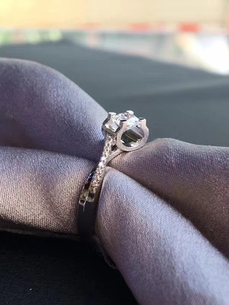 Twisted Bull Head Ring 9K,14K,18K Gold 1Ct Group Setting Engagement Wedding Moissanite Diamond Ring With Certificate