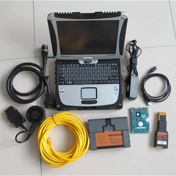 Best Quality for bmw icom a2 b c with hdd Diagnostic & Programming Tool With cf19 i5 tough book