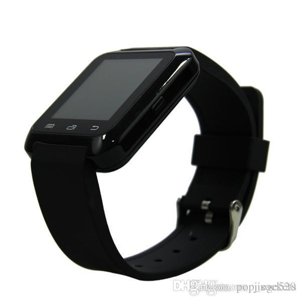 Hot Smart Watch U8 blutooth Sports Watch GPS for iPhone 4 4S 5 5S Samsung S4 S5 Android Phone Smartpho OTH014