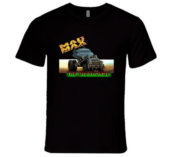 MAD MAX FURY ROAD DER GIGAHORSE, BRUDER AUTO FEST FILM T-Shirt Mens 2018 Mode Marke T-Shirt O-Ausschnitt 100% Baumwolle T-Shirt