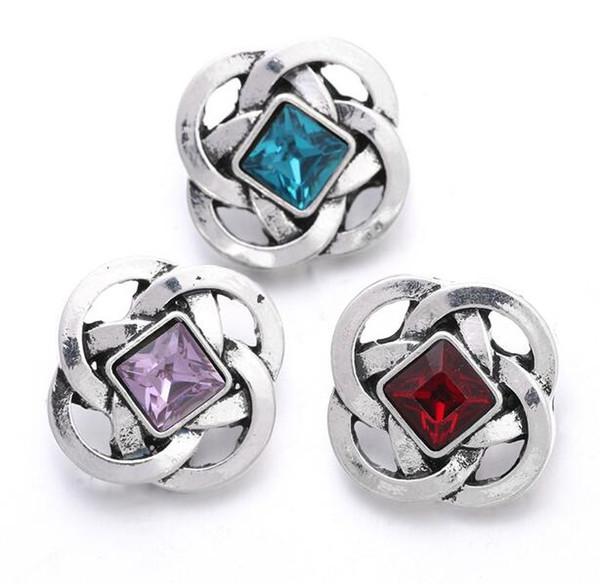 2018 nova pressão jóias botão de pressão de metal fit 18mm snap pulseira para as mulheres encantos diy jóias