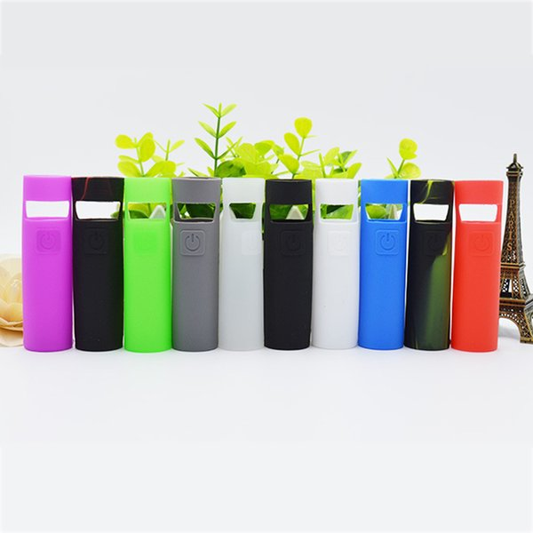 E Cigarettes eGo AIO D22 D19 Rubber Sleeve Protective Cover Silicone Case For eGo AIO Vape Pen Cases Skin Holder Pack DHL Free
