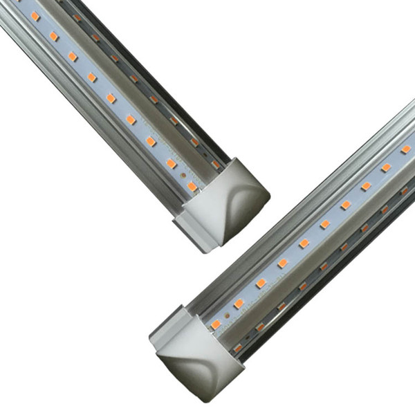 Kühlertür LED Tube V-förmige 8FT Lichter 4FT 5FT 6FT 8 Fuß LED T8 52W 72W Doppelseitige integrierte Leuchtstofflampe