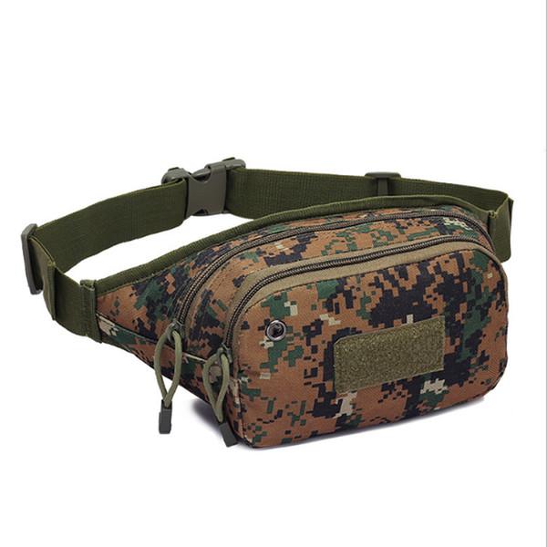 Emarald Ride Travel Camouflage Waist Bag Bananka Travel Leisure Fanny Pack Men And Women Walking Mountaineering Fanny Packs