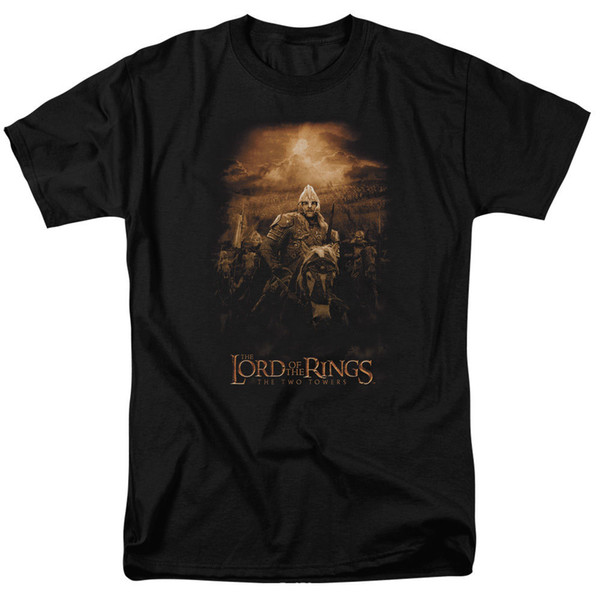 Lord of the Rings Riders Of Rohan T-Shirt Sizes S-3X NEW Print T shirt Men Short Sleeve TOP TEE Fashion Summer Top Tee