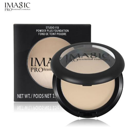 IMAGIC Face Power Rare Cosmetic Pressed Powder Matte Highlight Contour Shading Powder Face Makeup 4 Color Free Shipping