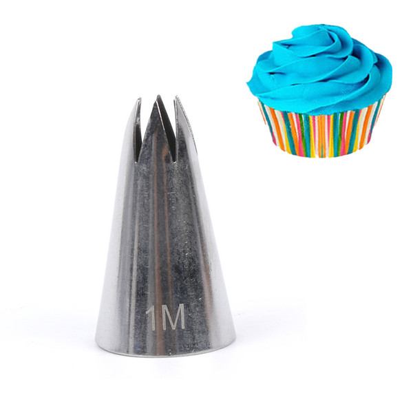 2019 1m Stainless Steel Piping Icing Nozzle For Cream Pastry Accessories Cake Cream Decoration Pastry Baking Tools For Cake Fondant From Huayama