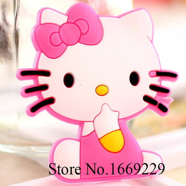 cute Hello kitty Fridge Magnets for kids Small Size Silicon Gel magnetic fridge magnet Animal Magnets