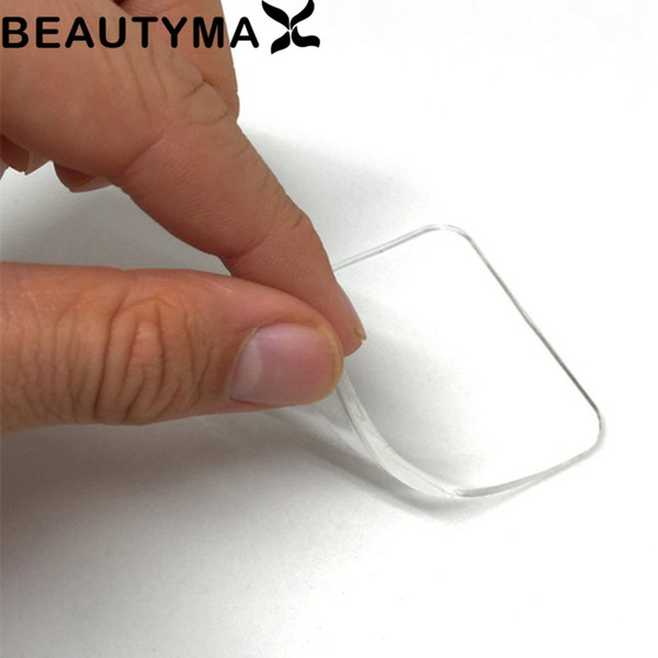 No Glue Clean Silicone Pad Phone Holder Invisiable Clear Soft TPU Car Phone Holder Mount Sticky Rubber Tablet Wall