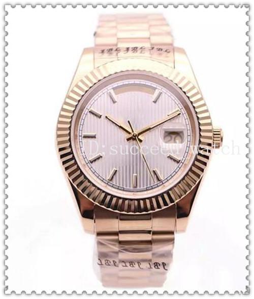 74 Relógio de luxo estilo DAYDATE tarja 18 K relógio de ouro espelho de safira movimento mecânico automático headband cinta fivela dobrável Automat