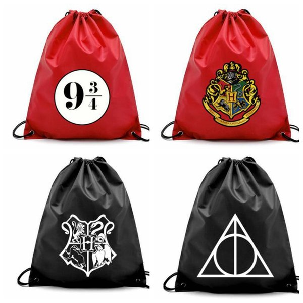 Fabulous 2019 4 Design Harry Potter Drawstring Bag Travel Package Storage Organizer Drawstring Bag Cartoon Harry Potter Pouch Kka5752 From Liangjingjing Home Andrewgaddart Wooden Chair Designs For Living Room Andrewgaddartcom