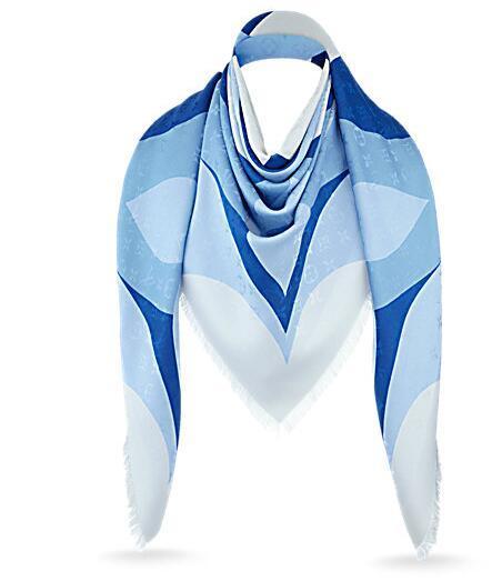 2018 Women Rainbow shawl Factory price classic cotton pashmina shawl silk scarf metal silk scarf printing scarf wraps