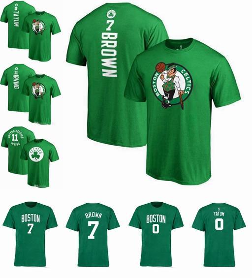 new product be309 1967b 2018 19 Good Season Basketball T Shirt New Celtic 11 Irving 20 Hayward Name  And Number Boston T Shirt Top Quality Cheap T Shirts Long Sleeve T Shirts  ...